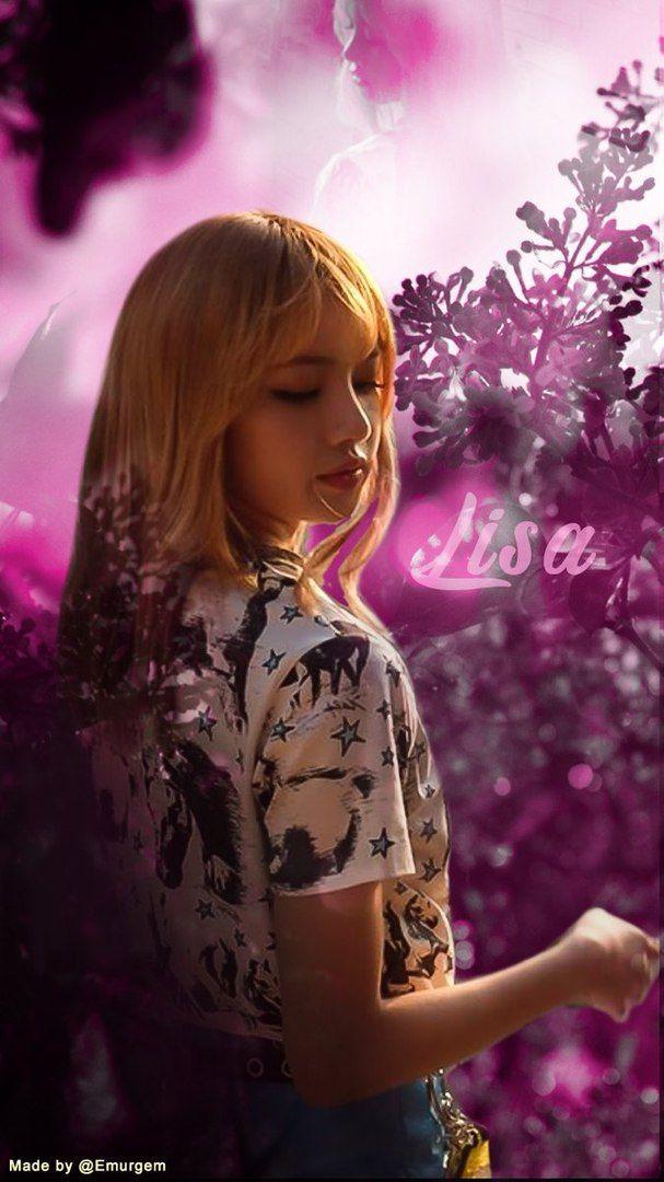 Lisa Wallpaper Love in 2019 Blackpink Lisa blackpink 607x1080