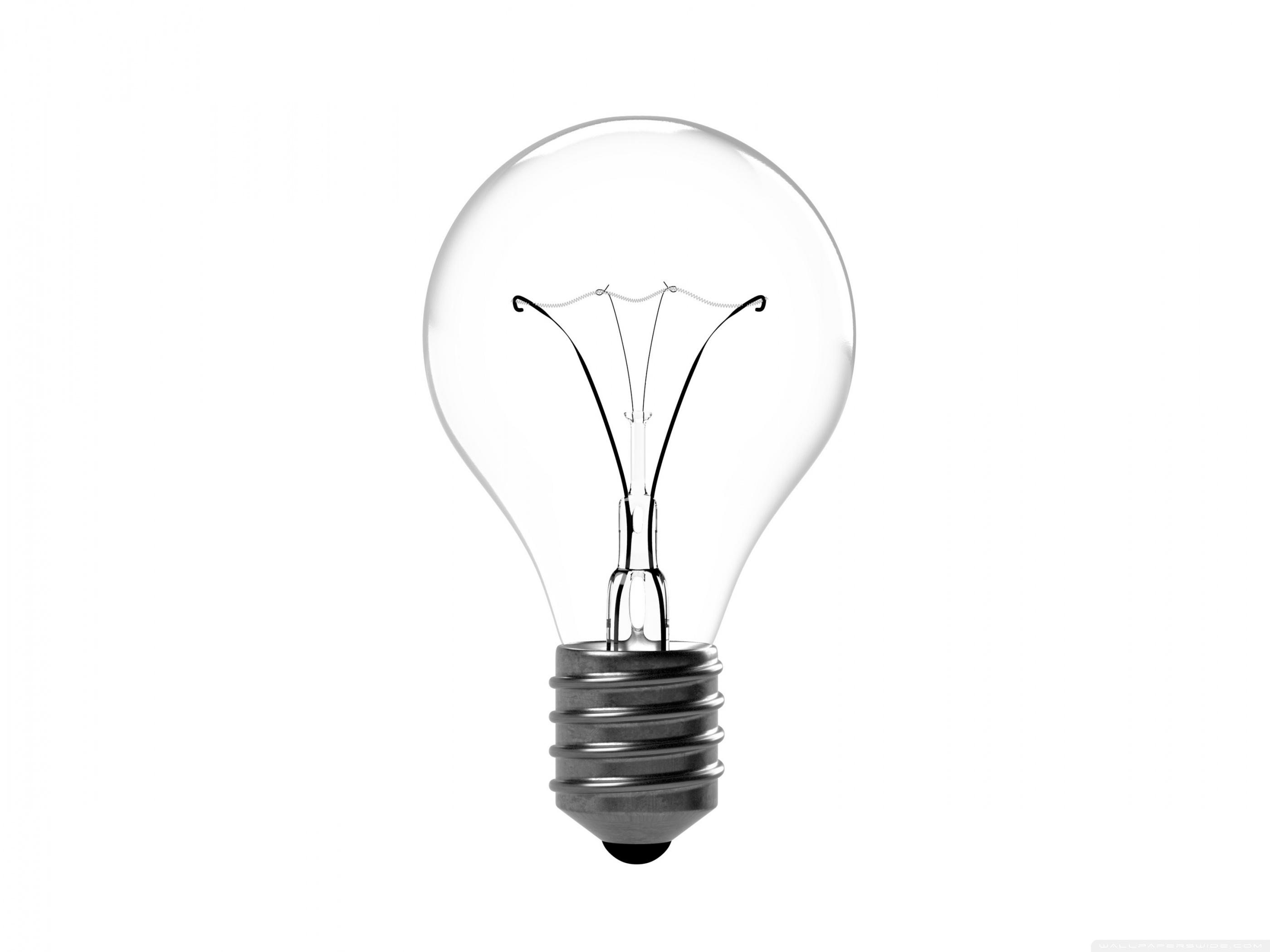 Incandescent Light Bulb 4K HD Desktop Wallpaper for 4K Ultra HD 2800x2100
