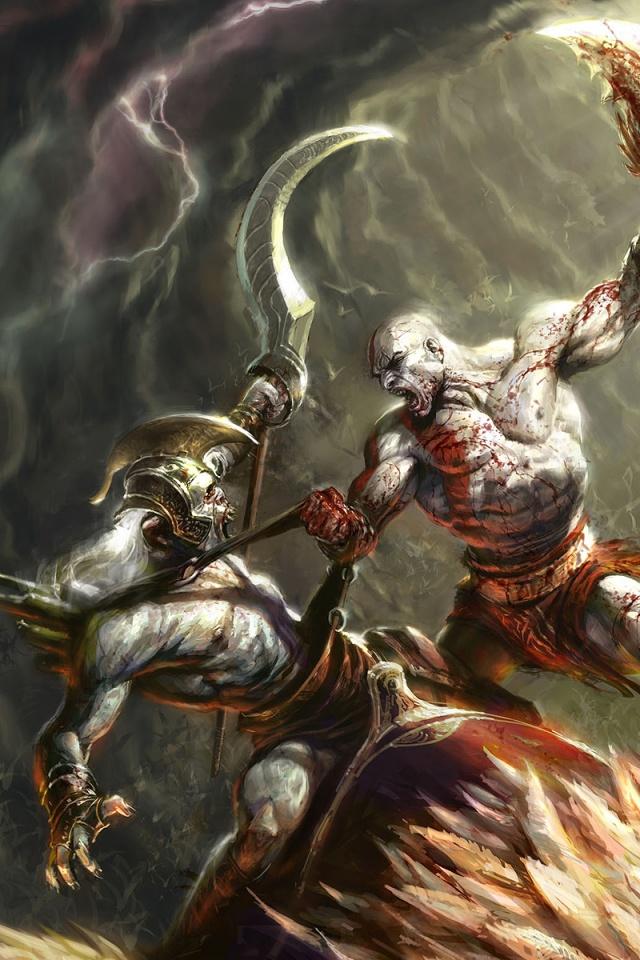48 God Of War Wallpaper 1080p On Wallpapersafari