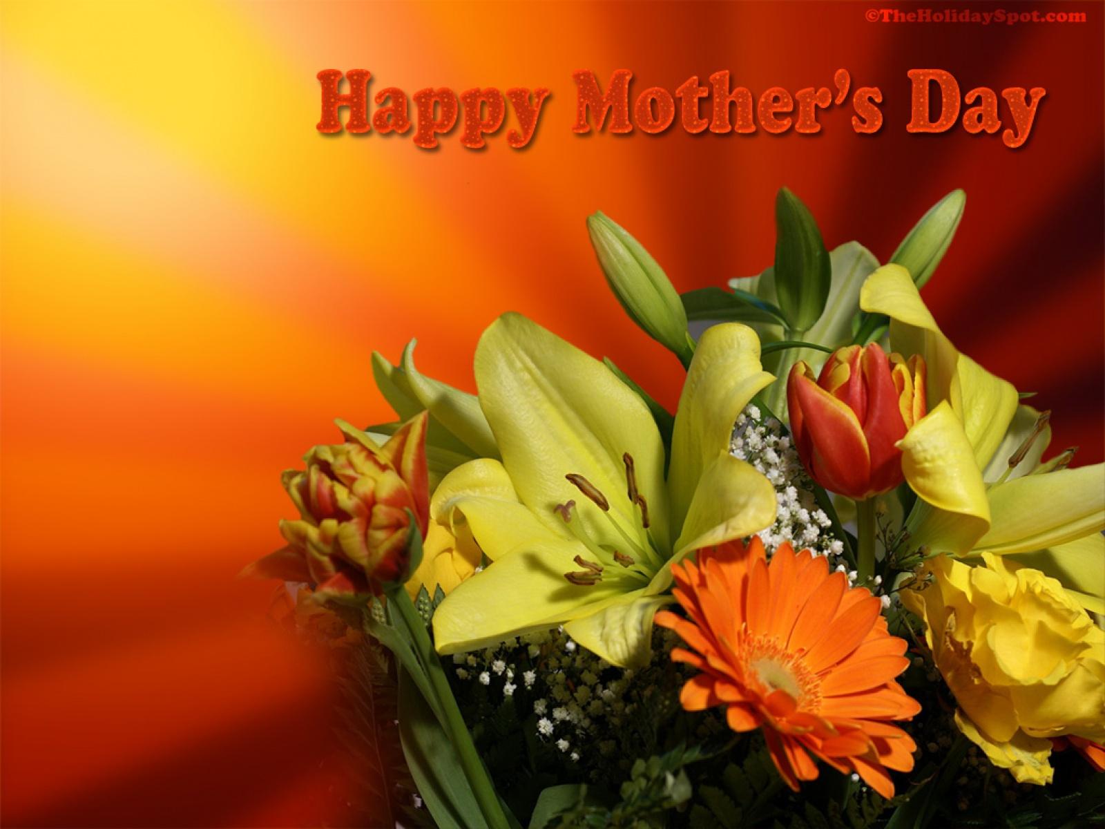 День матери фото открытки, кленовых листьев