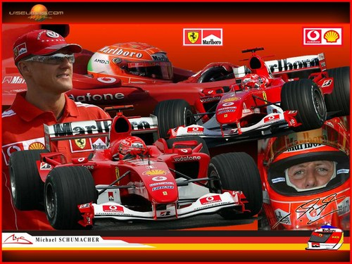 Schumacher Wallpaper 500x375