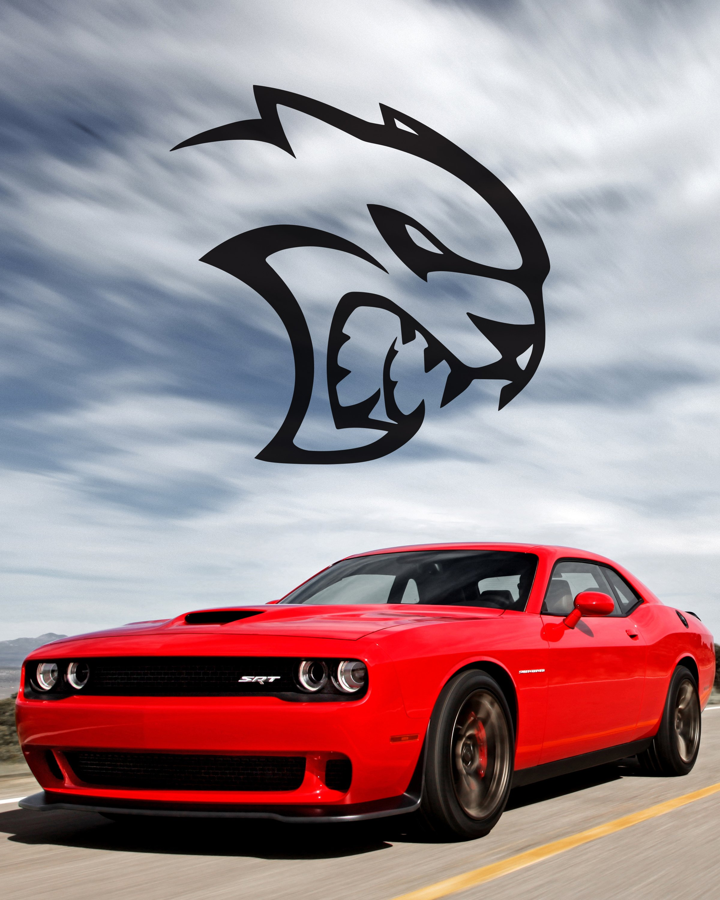 hellcat logo due to dodge hellcat logo wallpaper together with dodge 2400x3000