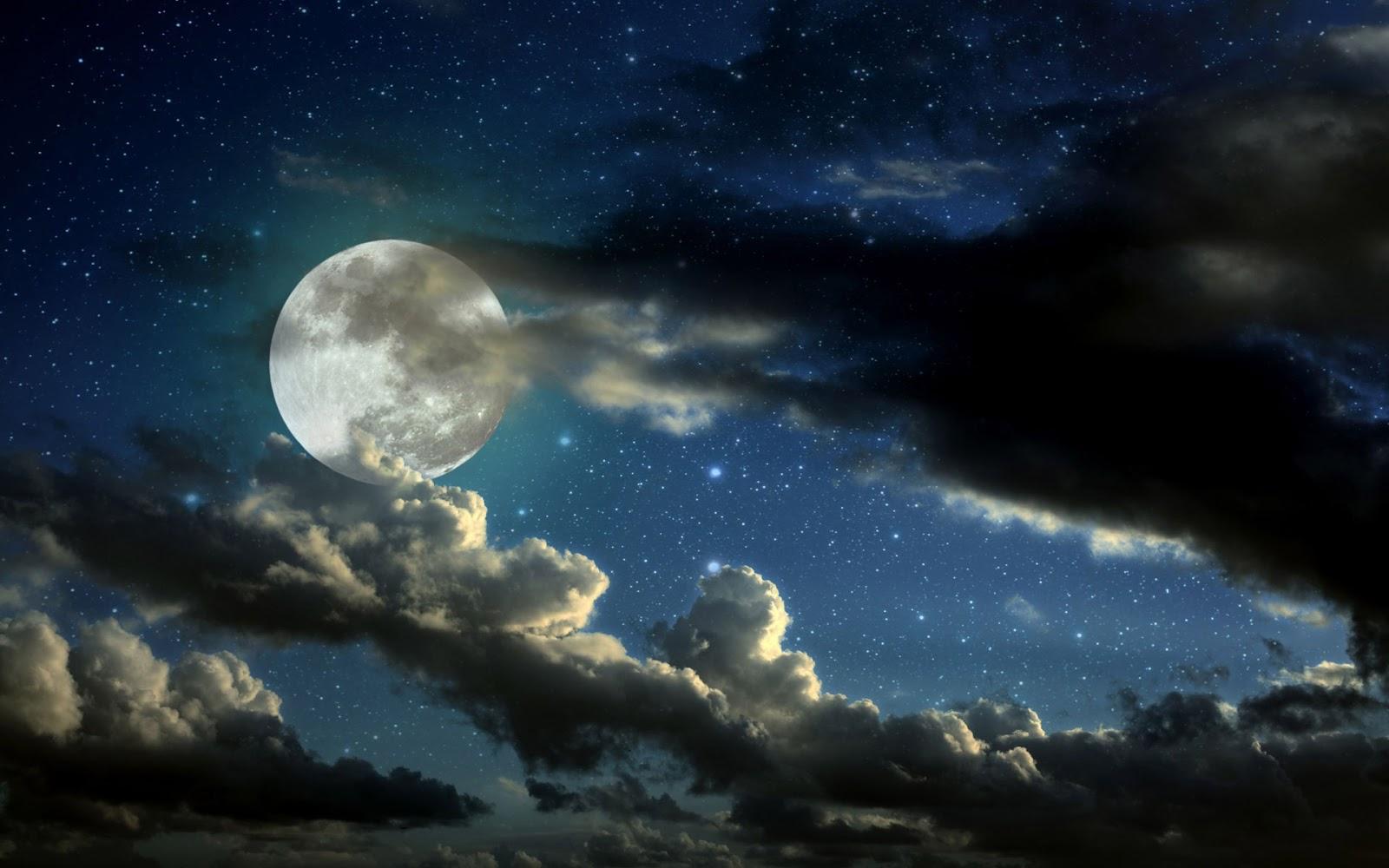 Beautiful Wallpapers Moon Hd Wallpaper 1600x1000