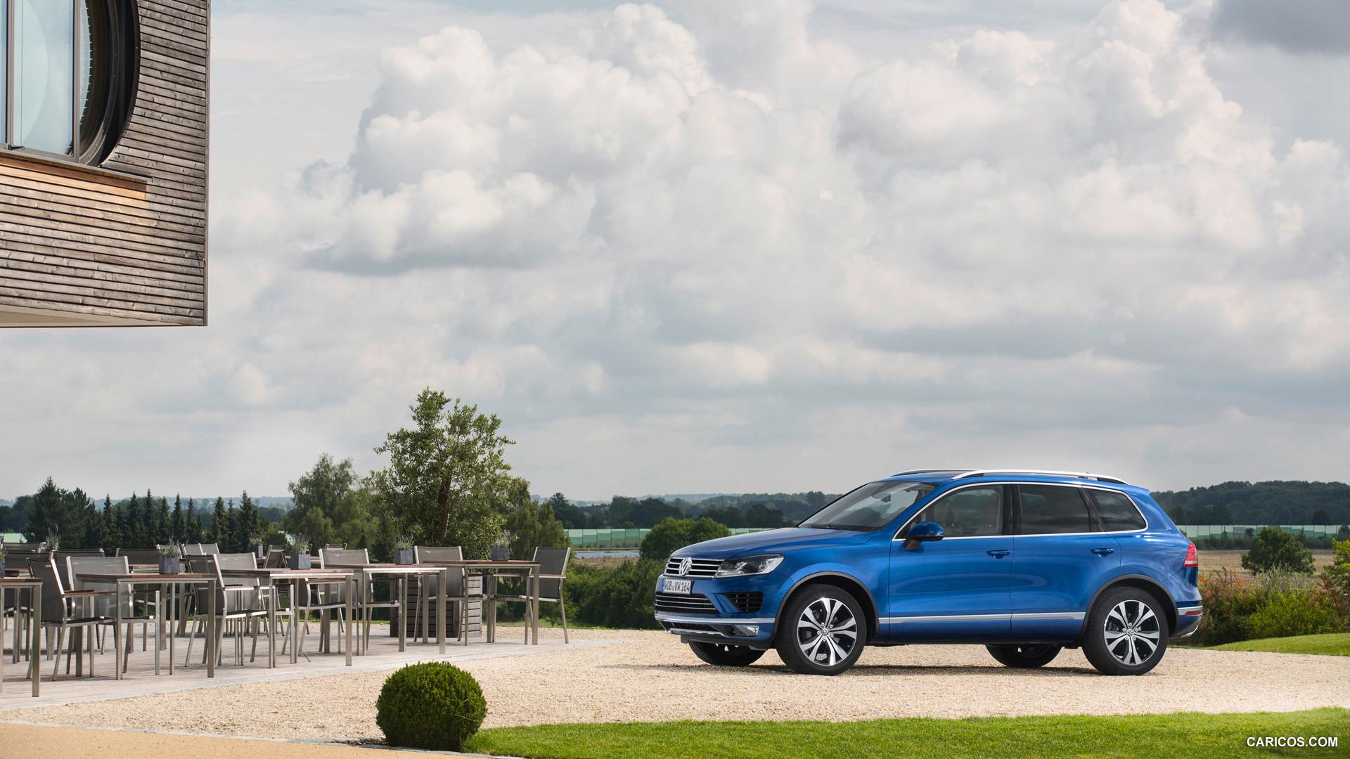 2015 Volkswagen Touareg   Side HD Wallpaper 29 1920x1080