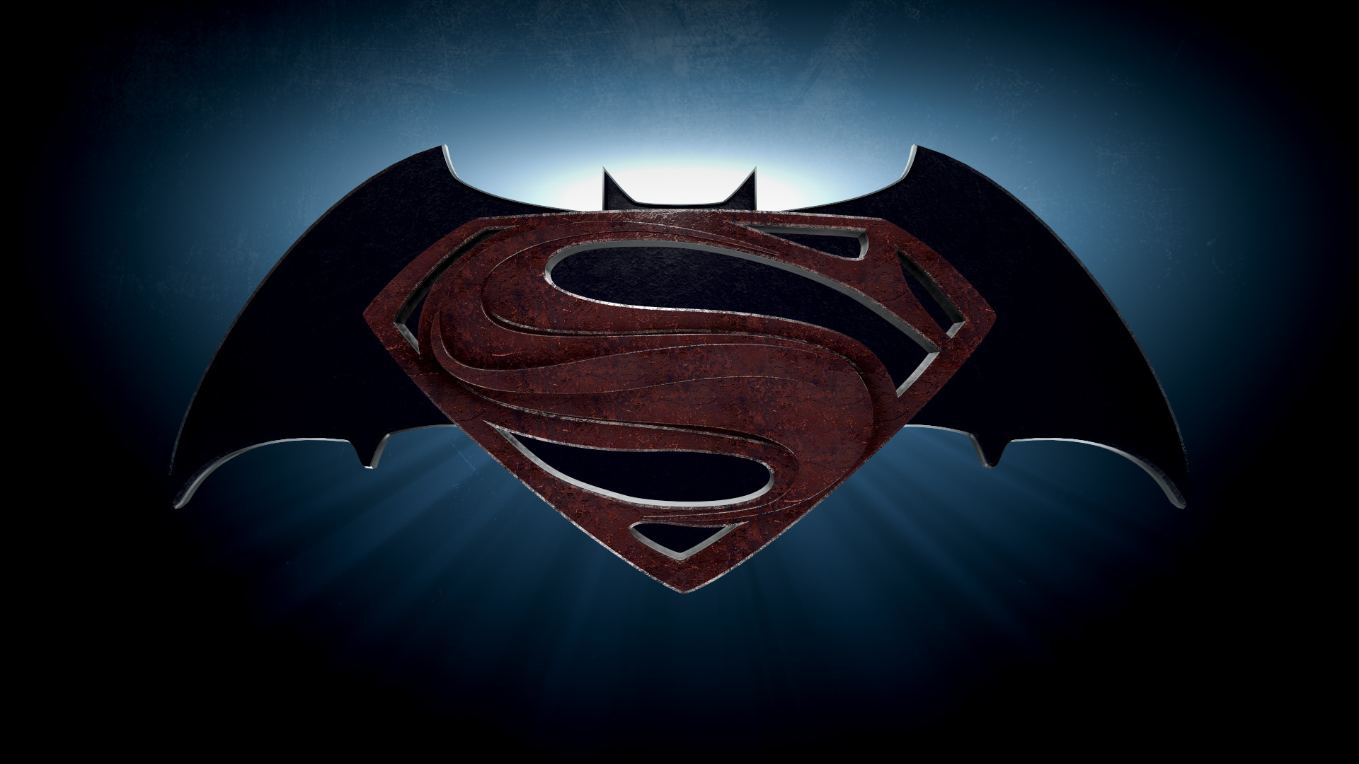 Batman v Superman 2015 Movie Logo HD Wallpaper   Stylish HD Wallpapers 1920x1080