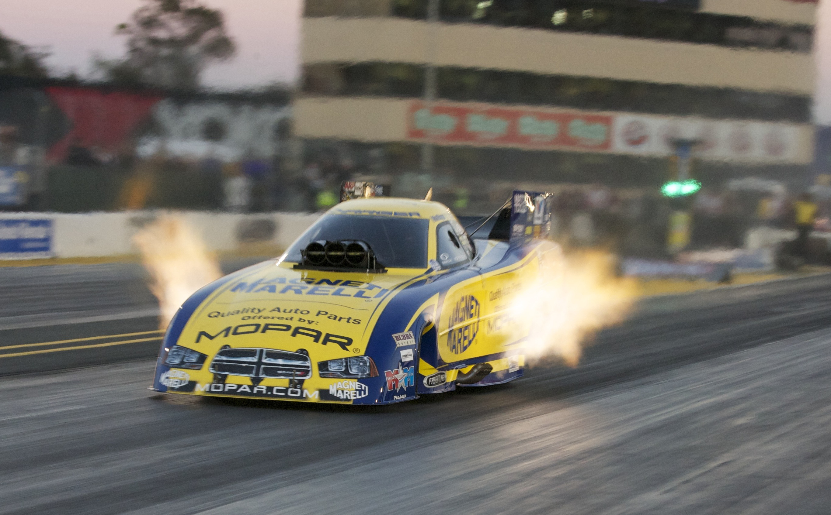 nhra funnycar funny car hot rod rods fire f wallpaper background 2732x1695
