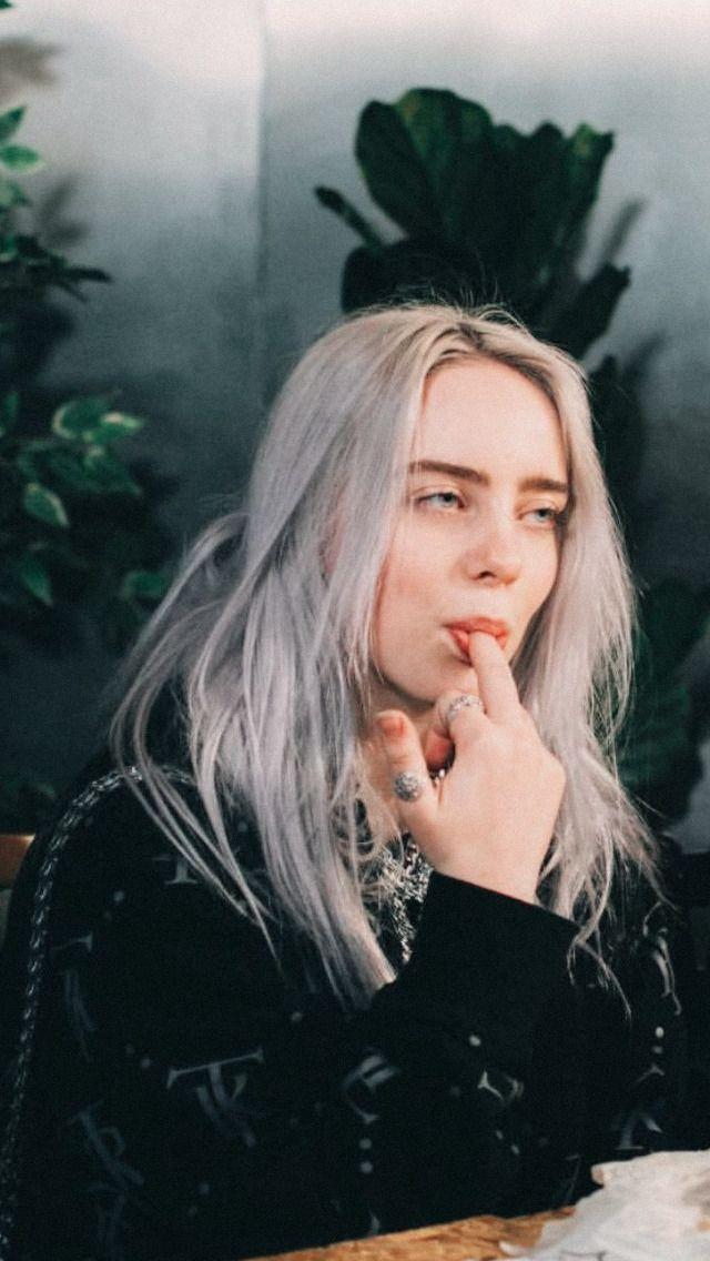 Billie Eilish Wallpaper Gray Hair 640x1136