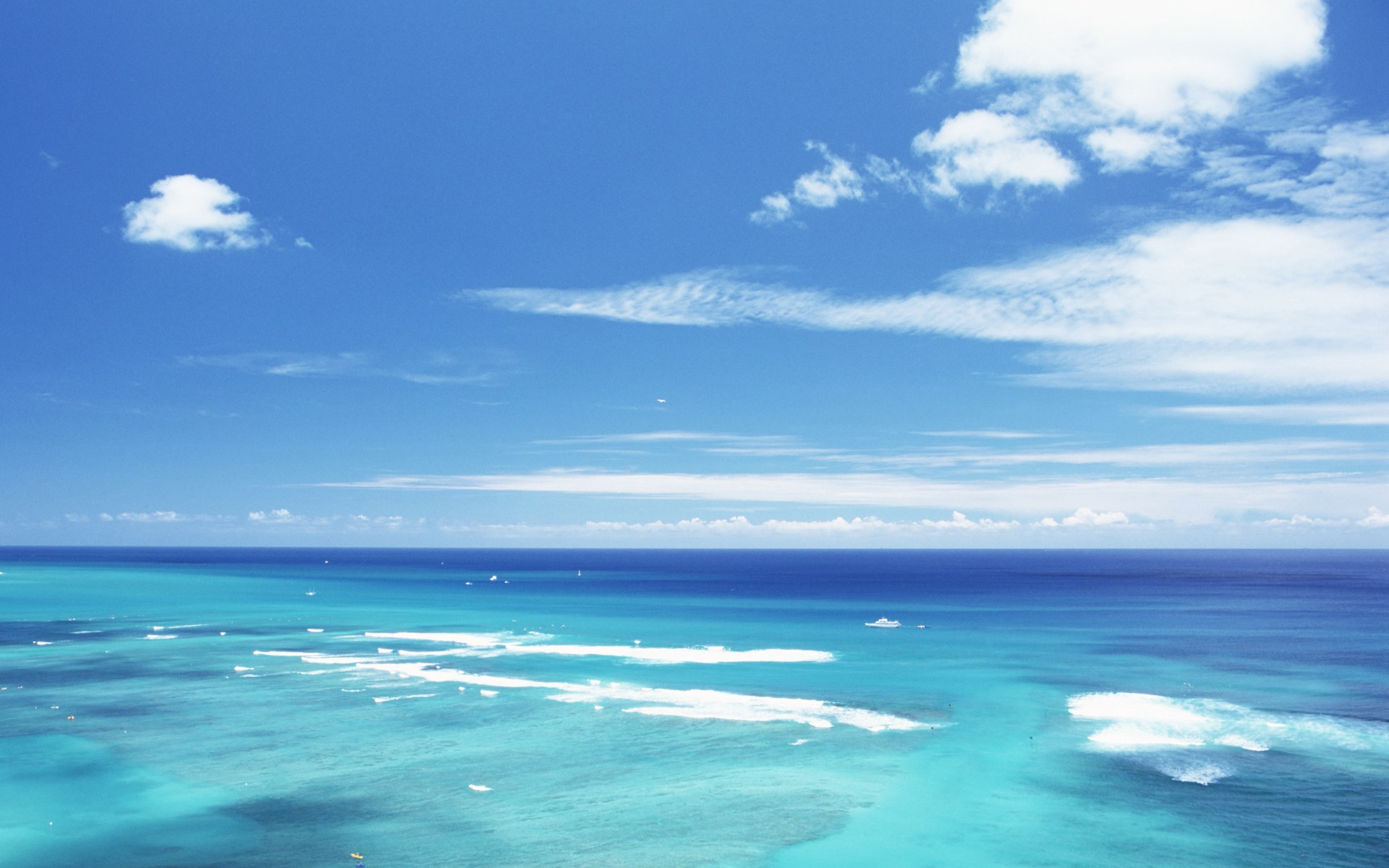 Hawaii Beach Wallpaper Print Poster Hawaiis Aquamarine Sea and 1920x1200
