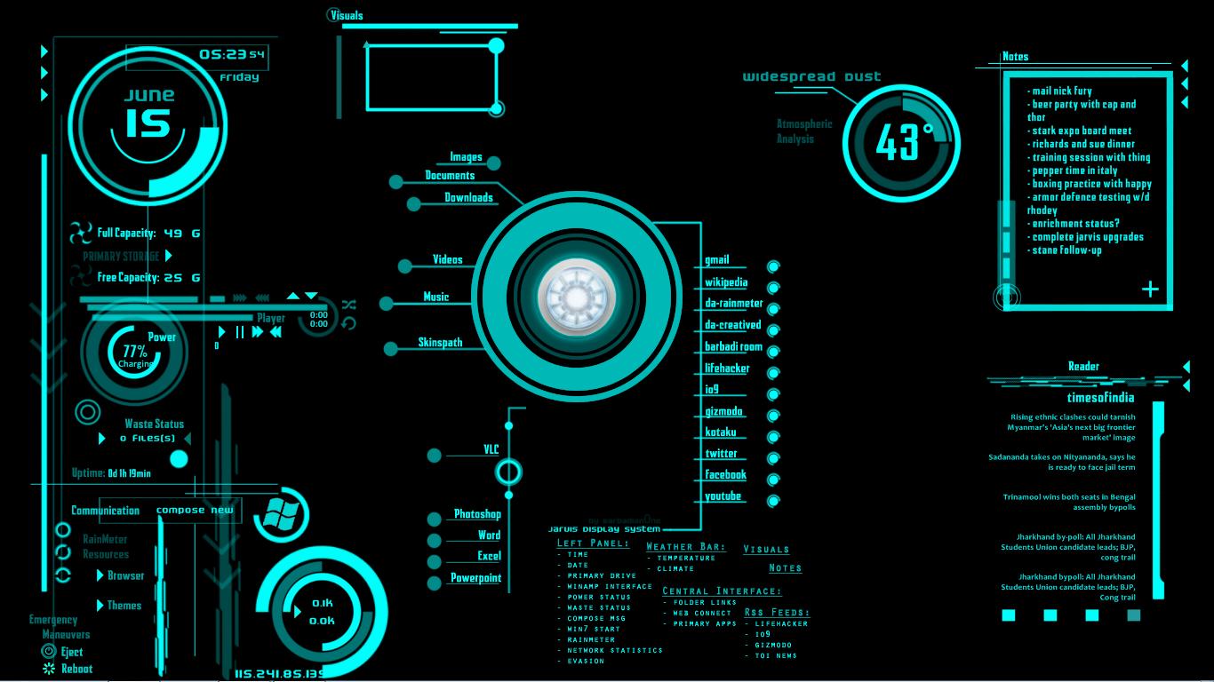 49+] Jarvis Live Wallpaper for Windows on WallpaperSafari