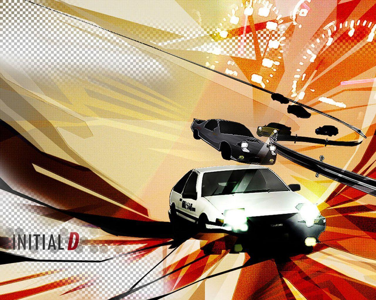 Wallpapers Initial D 1280x1024