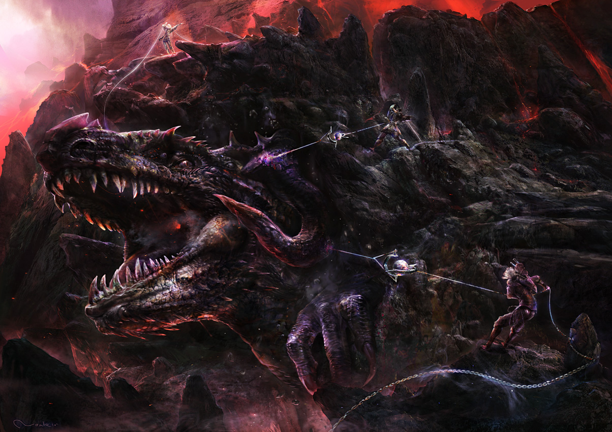 20 Awesome Dragon Wallpapers Creative Fan 1204x850