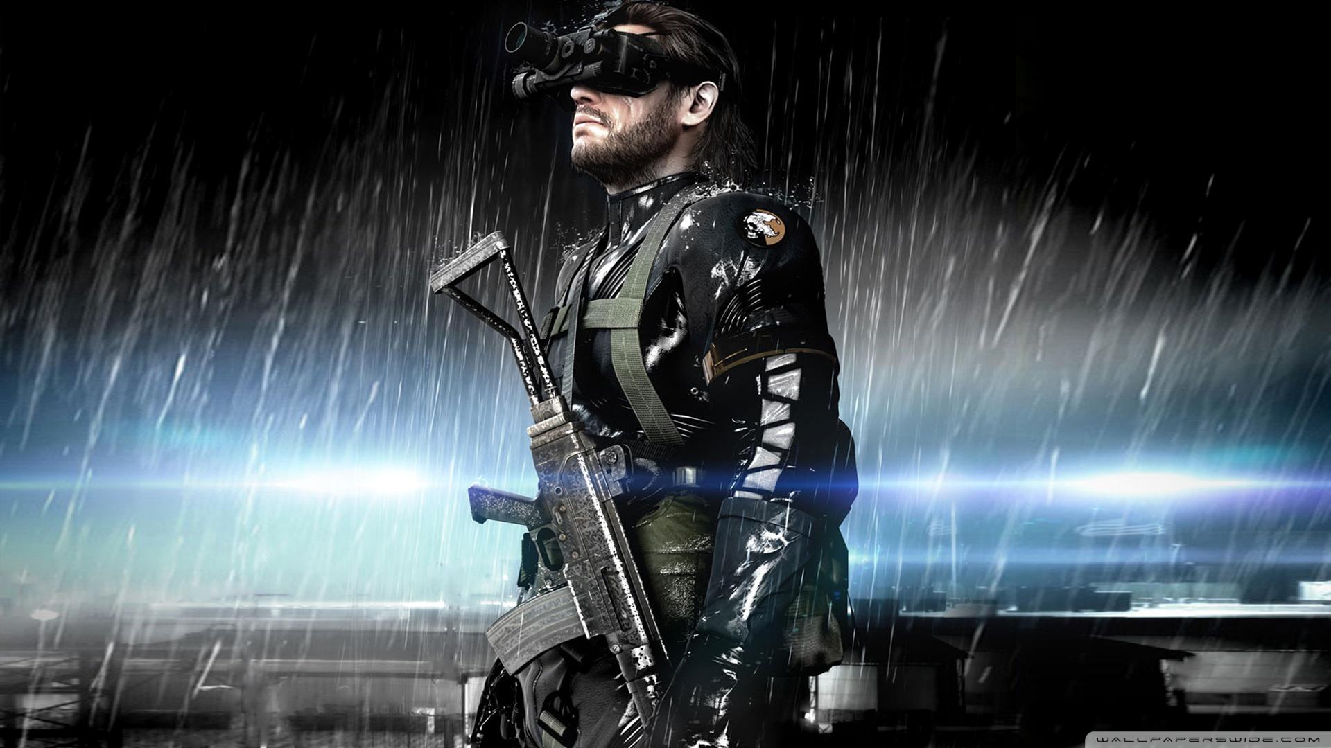 47 Metal Gear 5 Wallpaper On Wallpapersafari