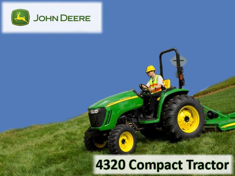 John Deere 4320 Compact Tractor Wallpaper 800x600