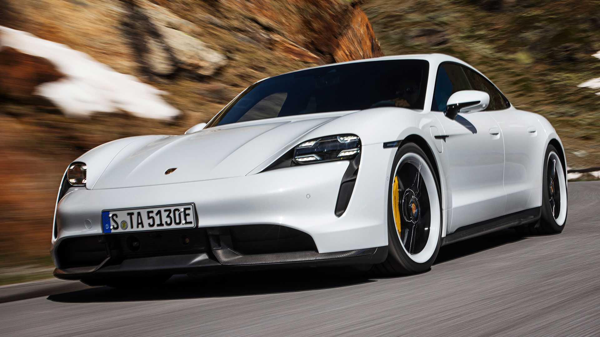 2020 Porsche Taycan Debuts As An All Electric Super Sedan 1920x1080
