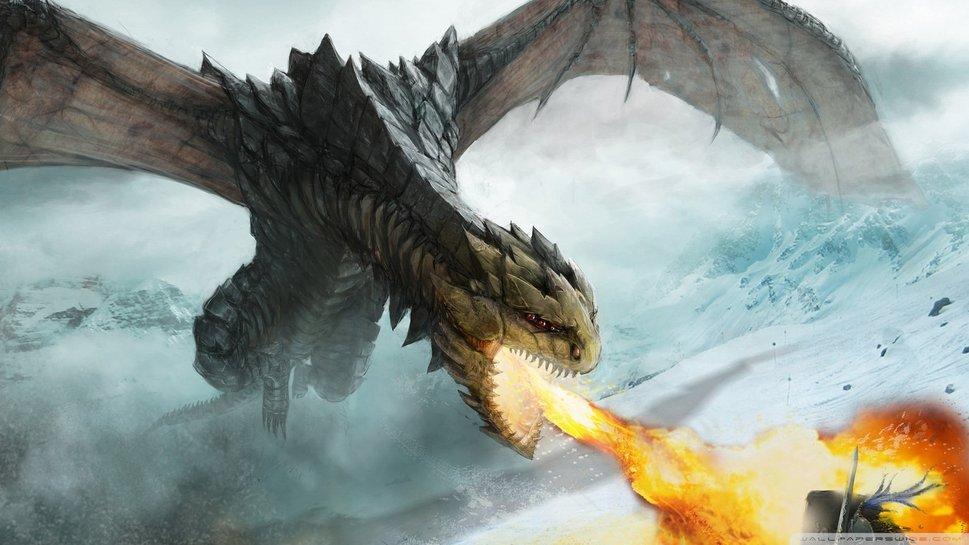 Epic Dragon Fantasy Wallpapers Epic dragon wallpaper 969x545