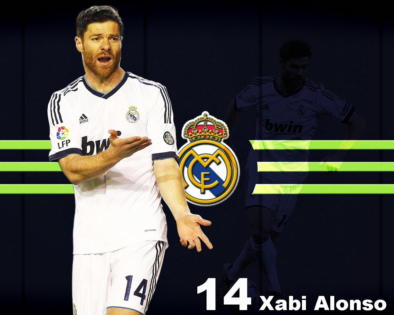 Xabi Alonso Real Madrid Wallpaper   Player Football Wallpaper 1280x1024