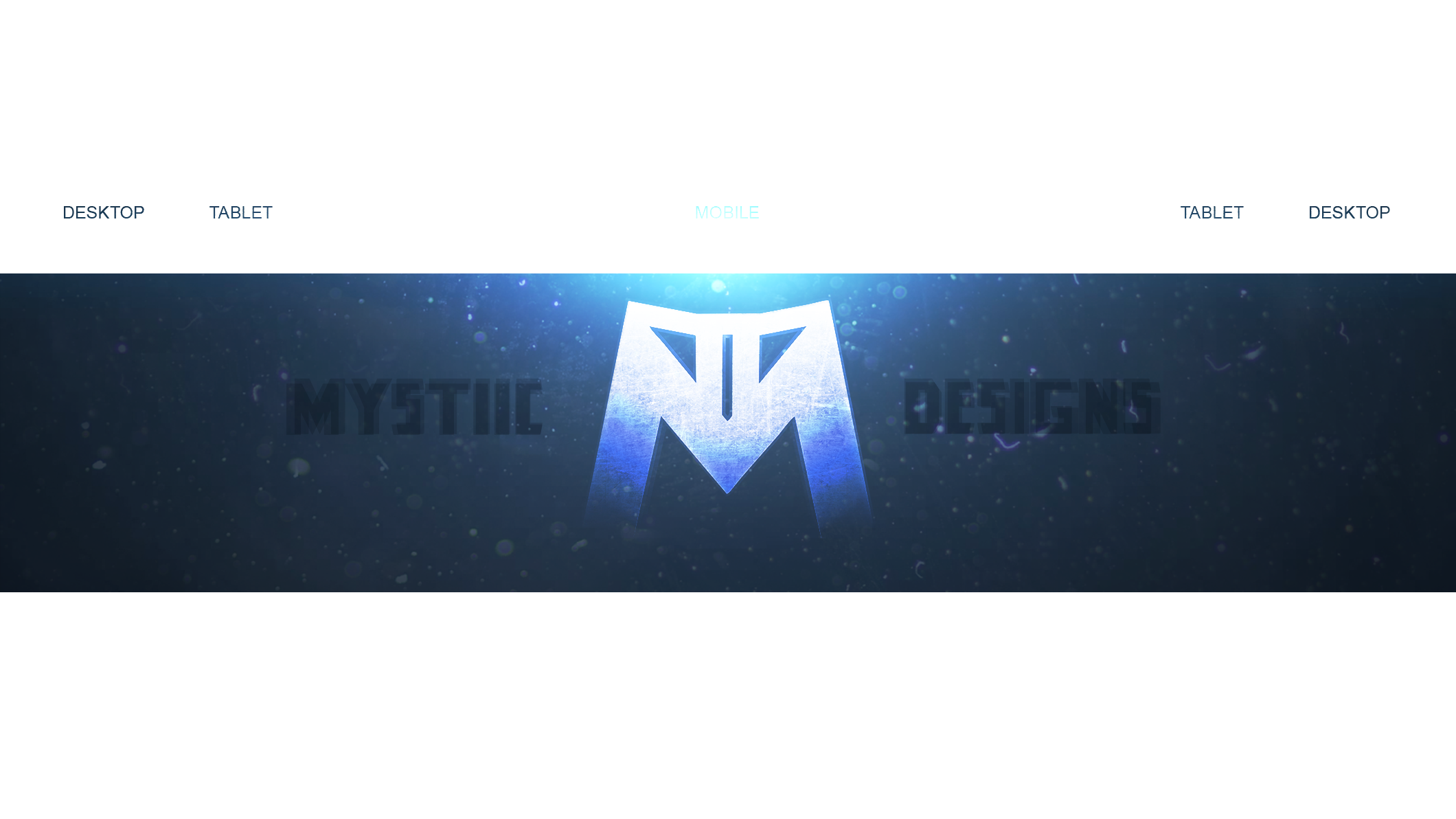 My First Personal YouTube BackgroundBanner by ByMystiic on 2120x1192