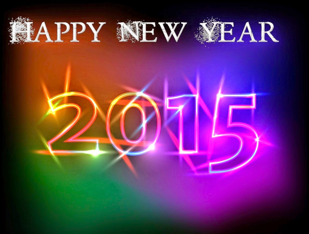 Colours on black Background Happy New Year 2015 hd wallpapers 1280x970