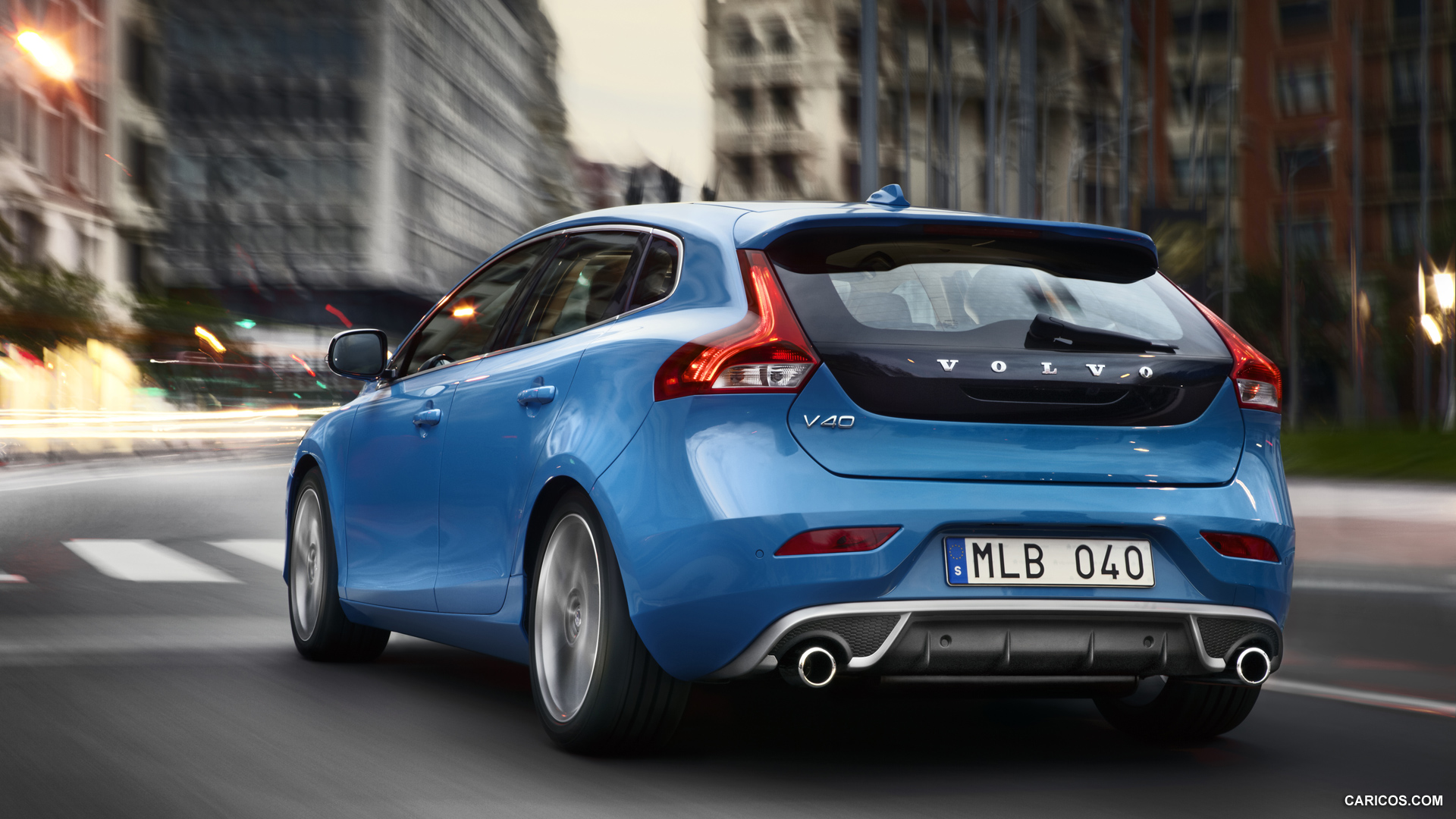 2013 Volvo V40 R Design   Rear HD Wallpaper 1 1920x1080
