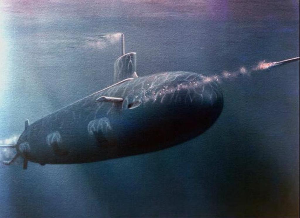 Desktop wallpaper for submarine 1024x744