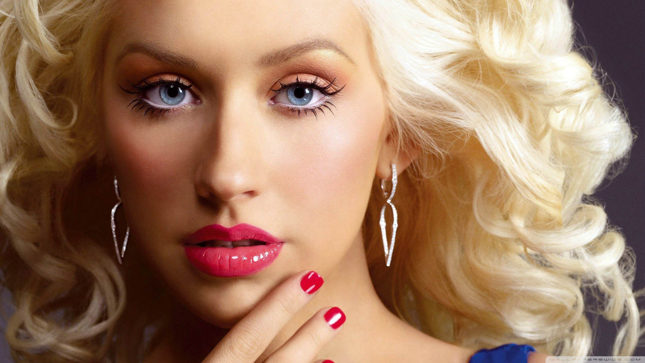 Christina Aguilera 4K HD Desktop Wallpaper for 4K Ultra HD TV 2560x1440