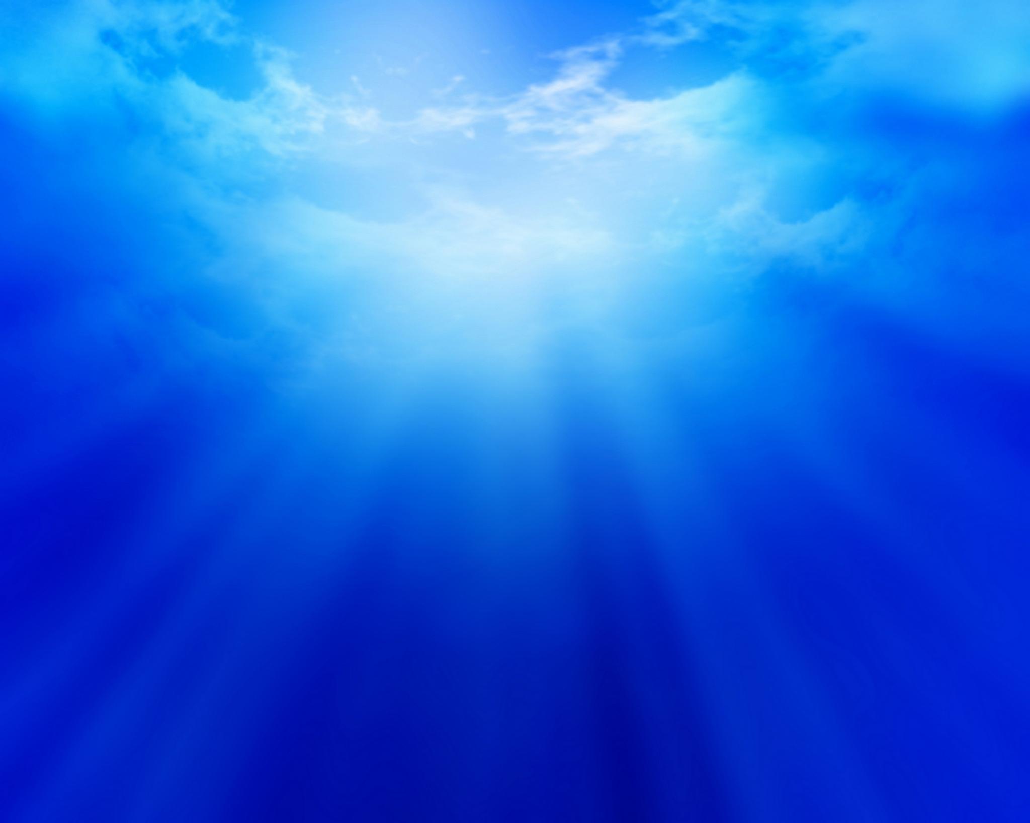 Blue Blue digital sky 2048x1638