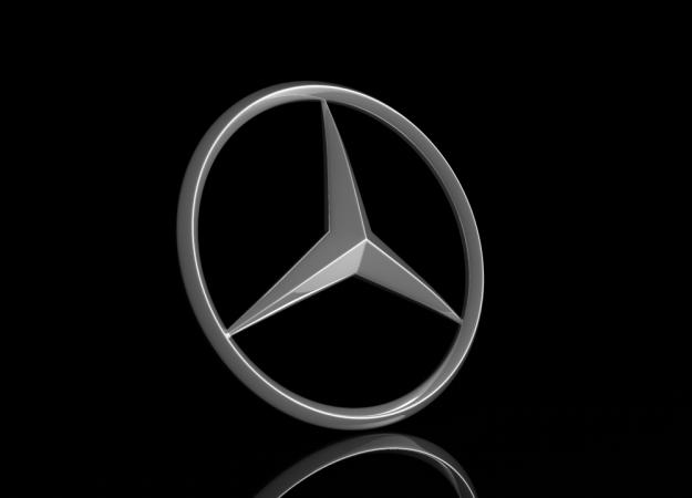 Mercedes Logo 3D Model 3D Model .max .obj .fbx .c4d .hrc ...