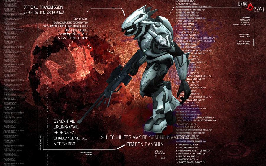 Halo Elite Wallpaper Halo 3 elite dragon ranshiin 900x563