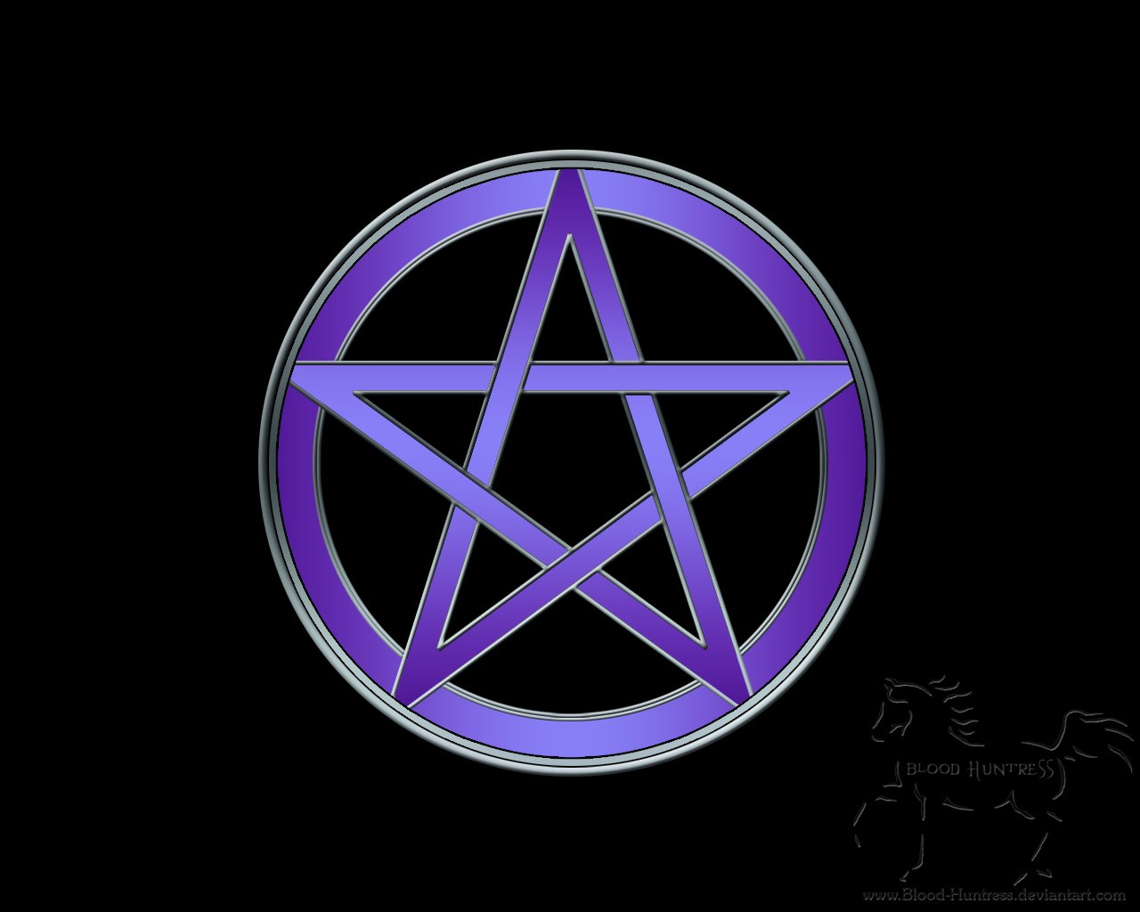 pentagram wallpaper 1280x1024