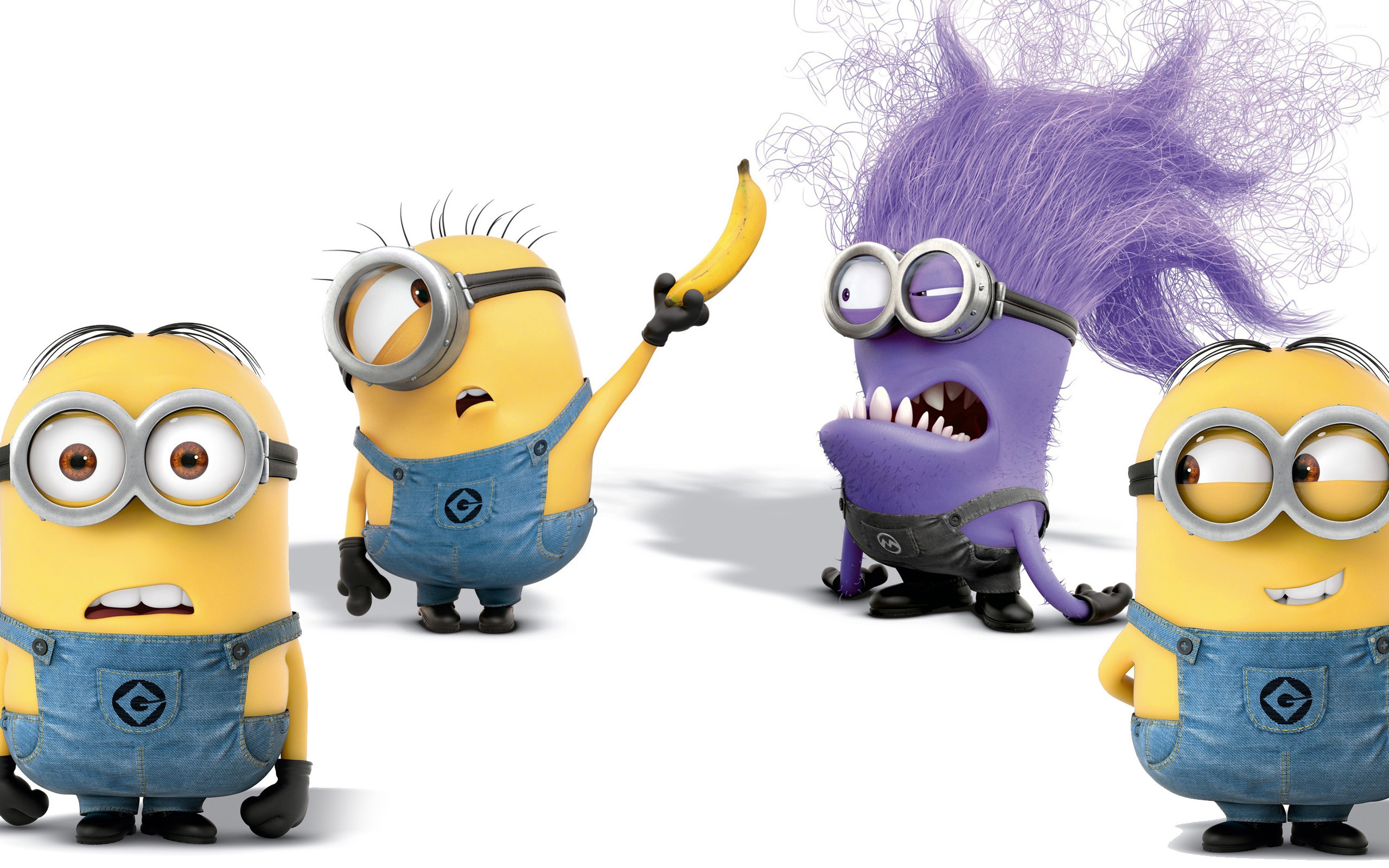 Minion screensavers and wallpaper wallpapersafari - Despicable me minion screensaver ...