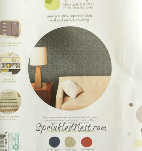 Devine Color Weave Wallpaper Compass and Gold SprinkledNest 470x500