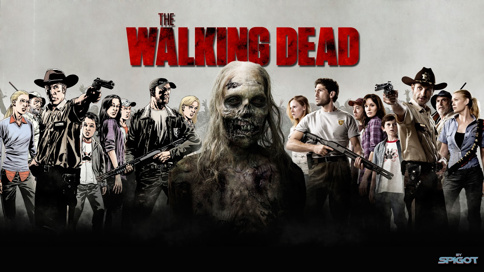 49 The Walking Dead Wallpaper Season 6 On Wallpapersafari