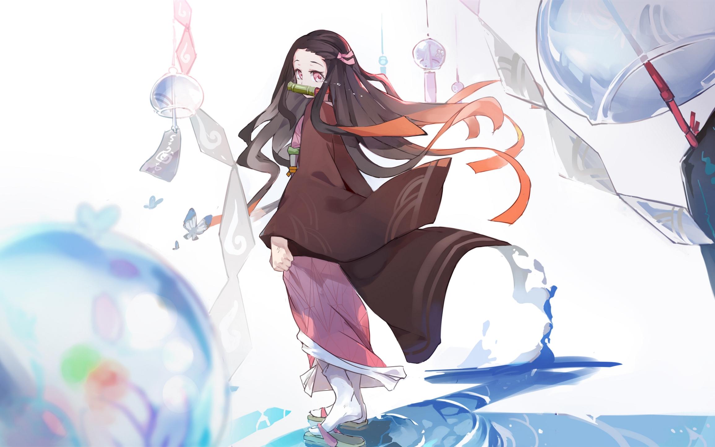 Free download Demon Slayer Kimetsu no Yaiba HD Wallpaper Background Image 2311x1445 for your ...