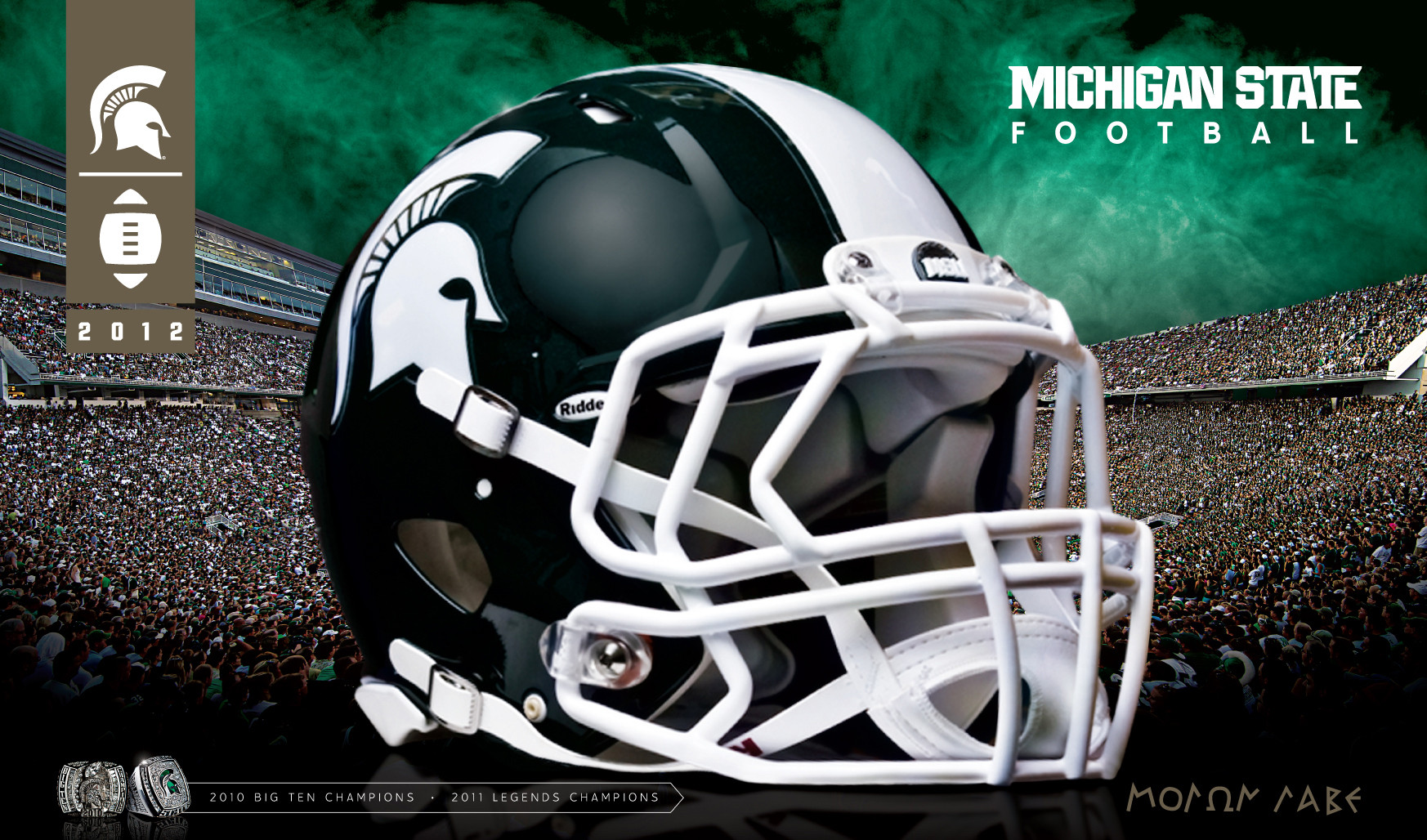 Michigan State Football PSP Themes Wallpapers 1746x1028