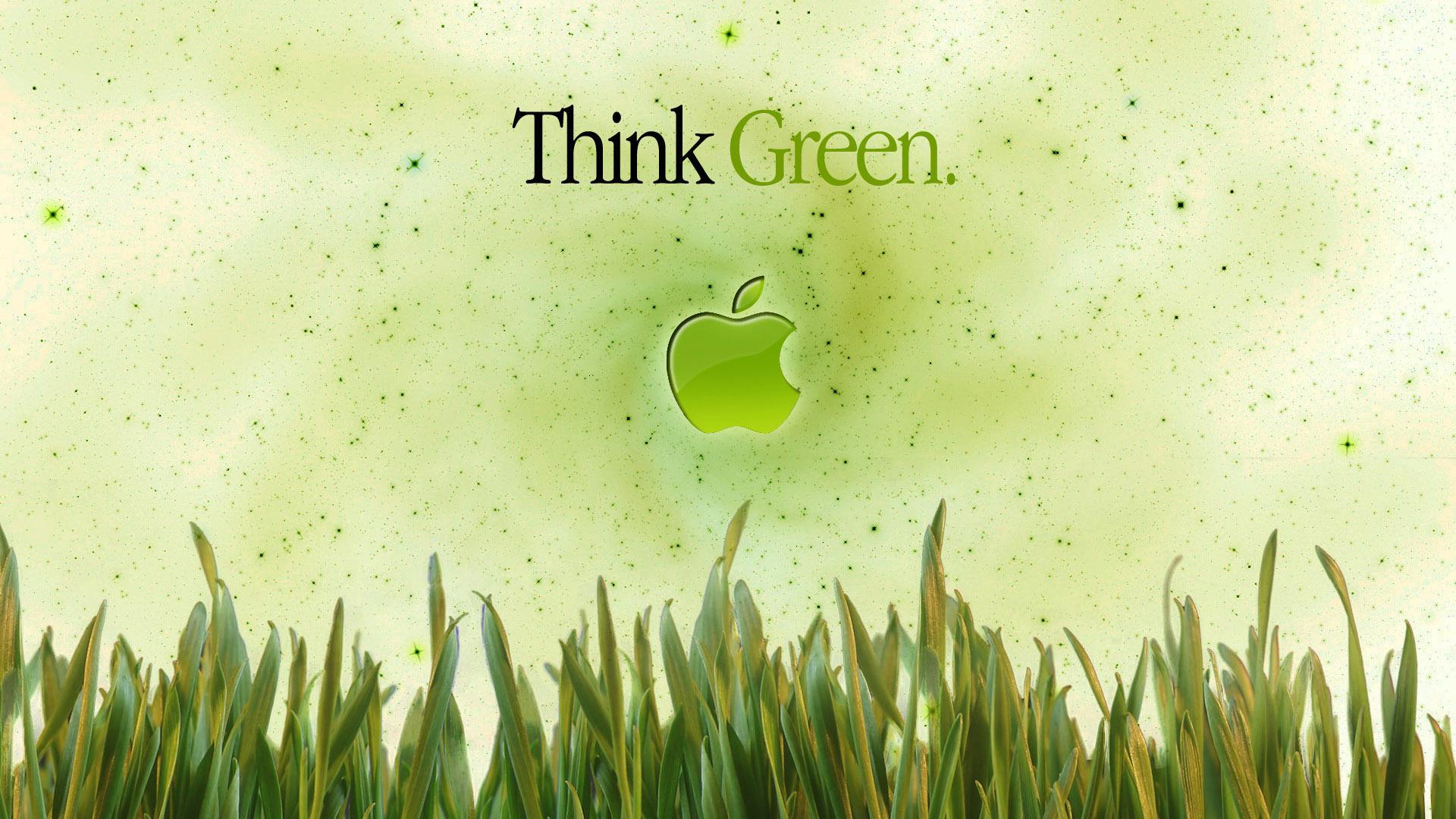 Apple in the grass Widescreen Wallpaper   15474 1920x1080