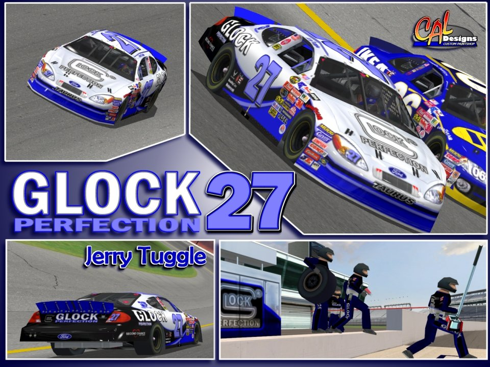 Team Glock Logo Wallpaper Glock ford nascar racing 2003 960x720