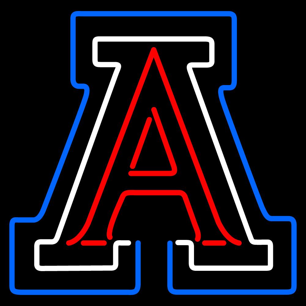 Arizona Wildcats Logo Arizona wildcats team neon 1000x1000
