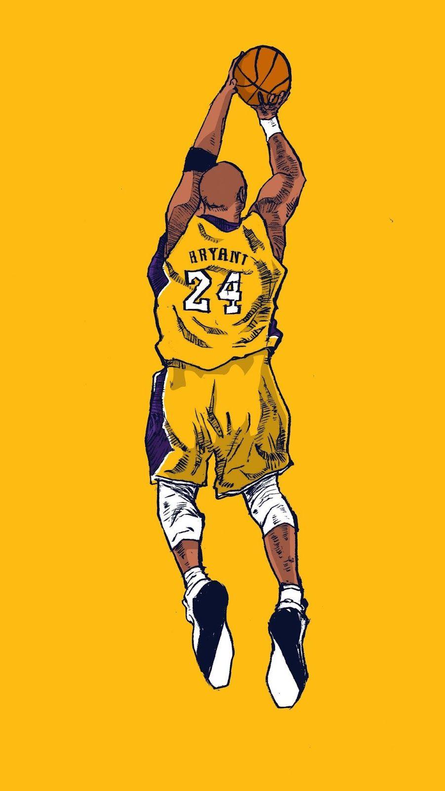 Kobe Bryant Black Mamba Wallpaper Yellow Kobe bryant wallpaper 901x1600