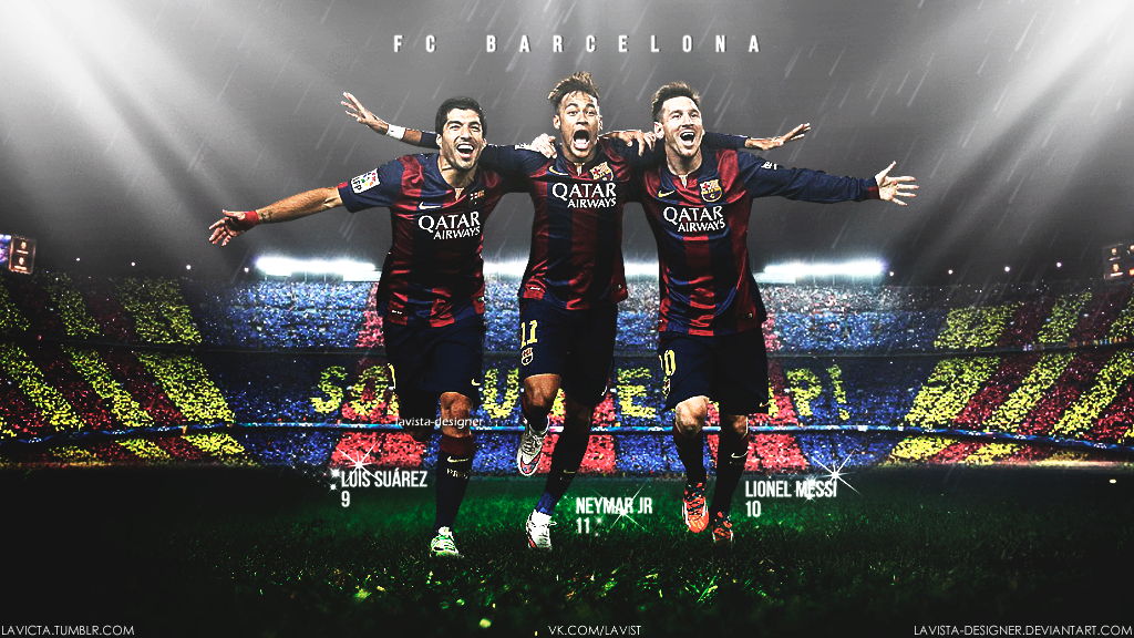 Related wallpapers from Fc Barcelona 2015 Neymar Messi Suarez 1024x576
