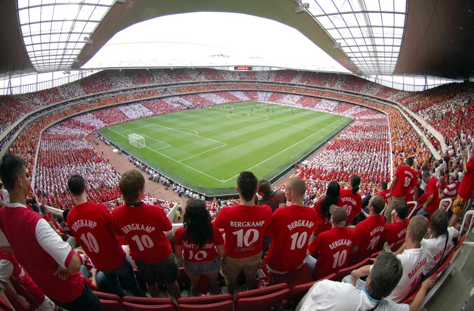 Stadium Night   Emirates Stadium Seating   Emirates Stadium Wallpaper 1600x1052