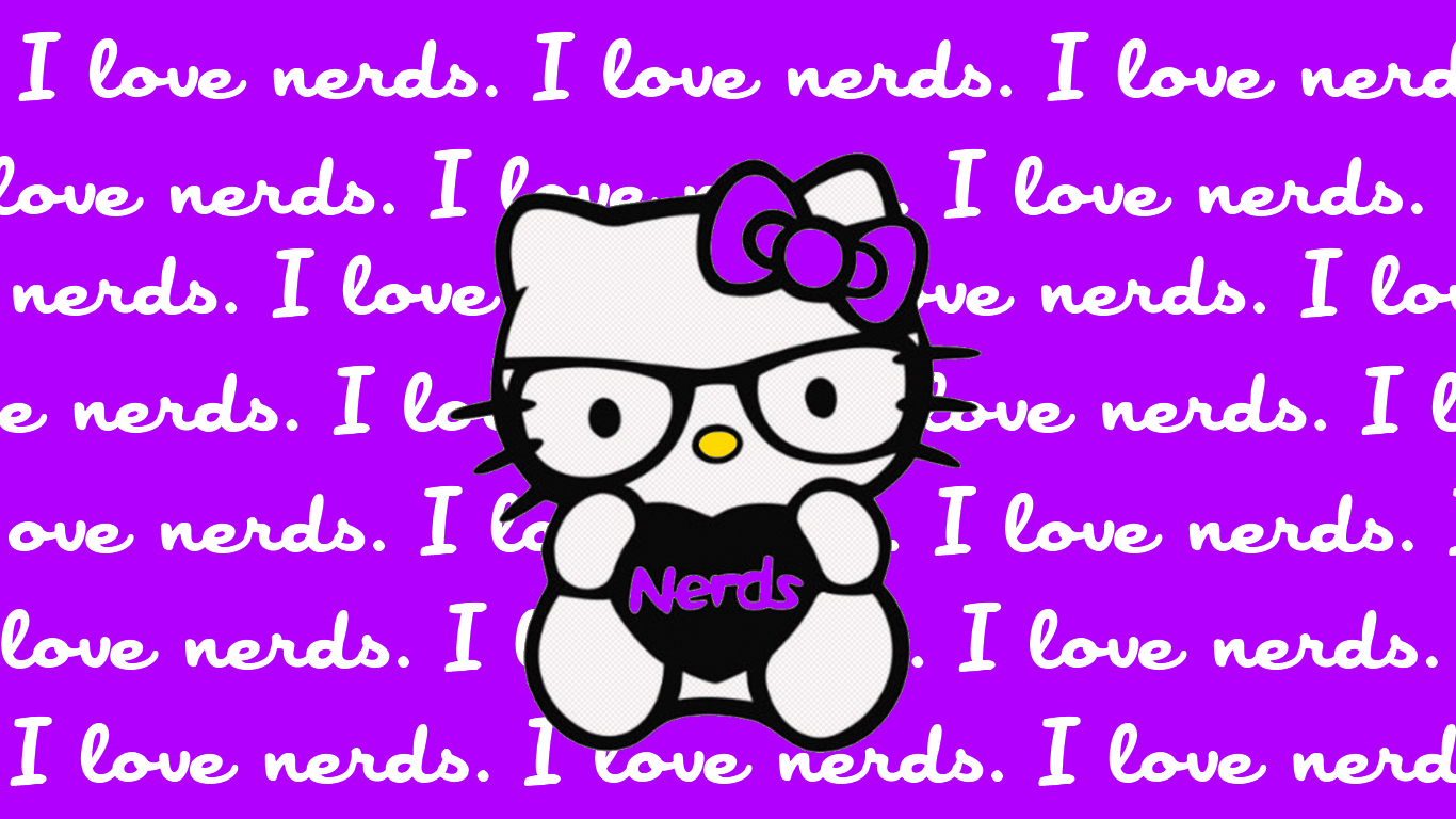 Cute Purple Hello Kitty Desktop Wallpaper 441 Foolhardi 1366x768