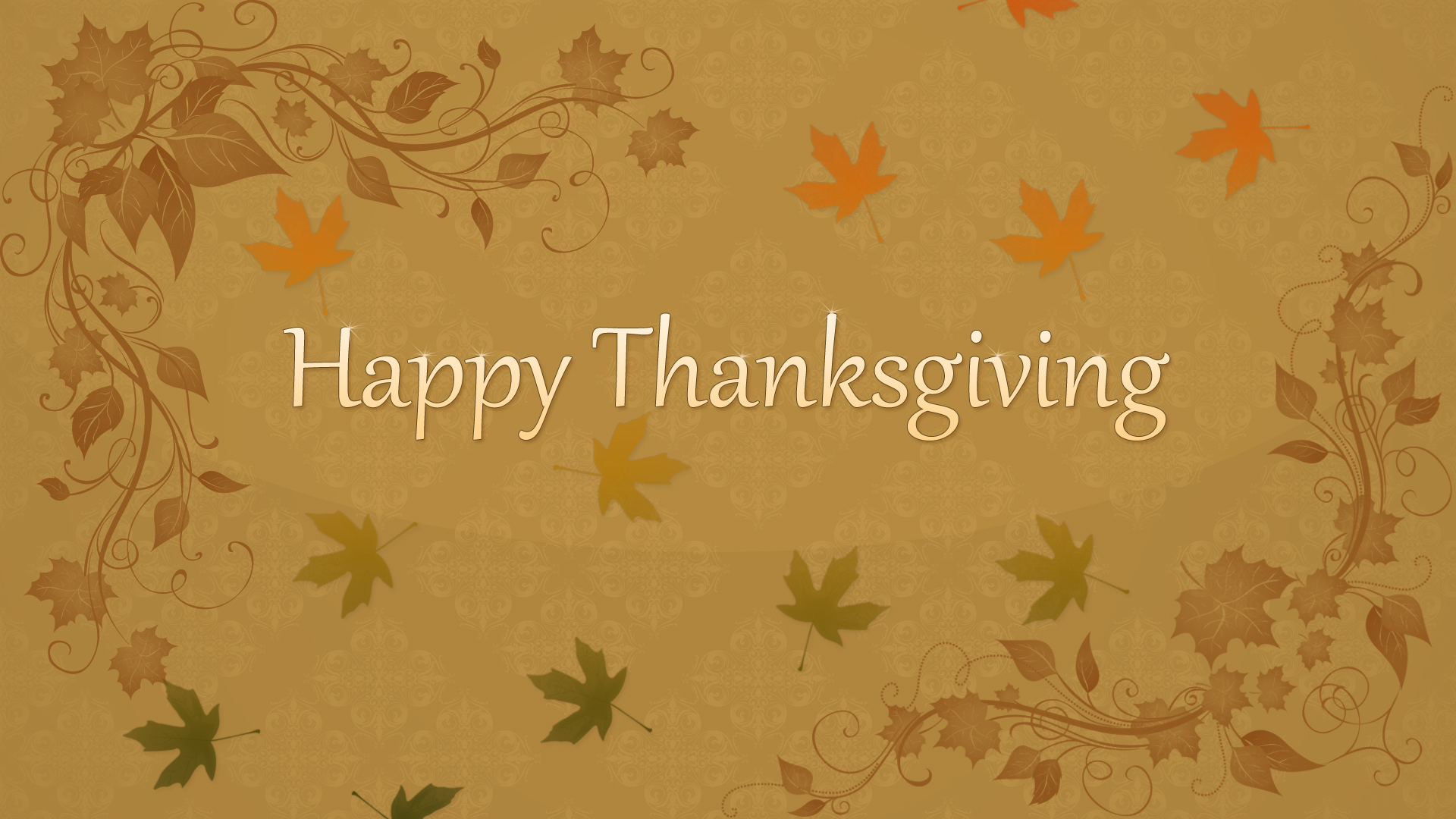 Happy thanksgiving desktop wallpaper   SF Wallpaper 1920x1080