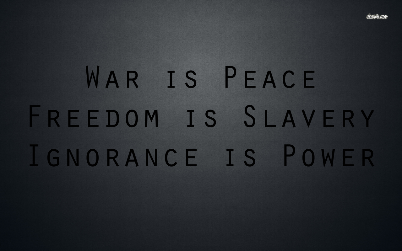War freedom and ignorance wallpaper   Quote wallpapers   39052 1280x800