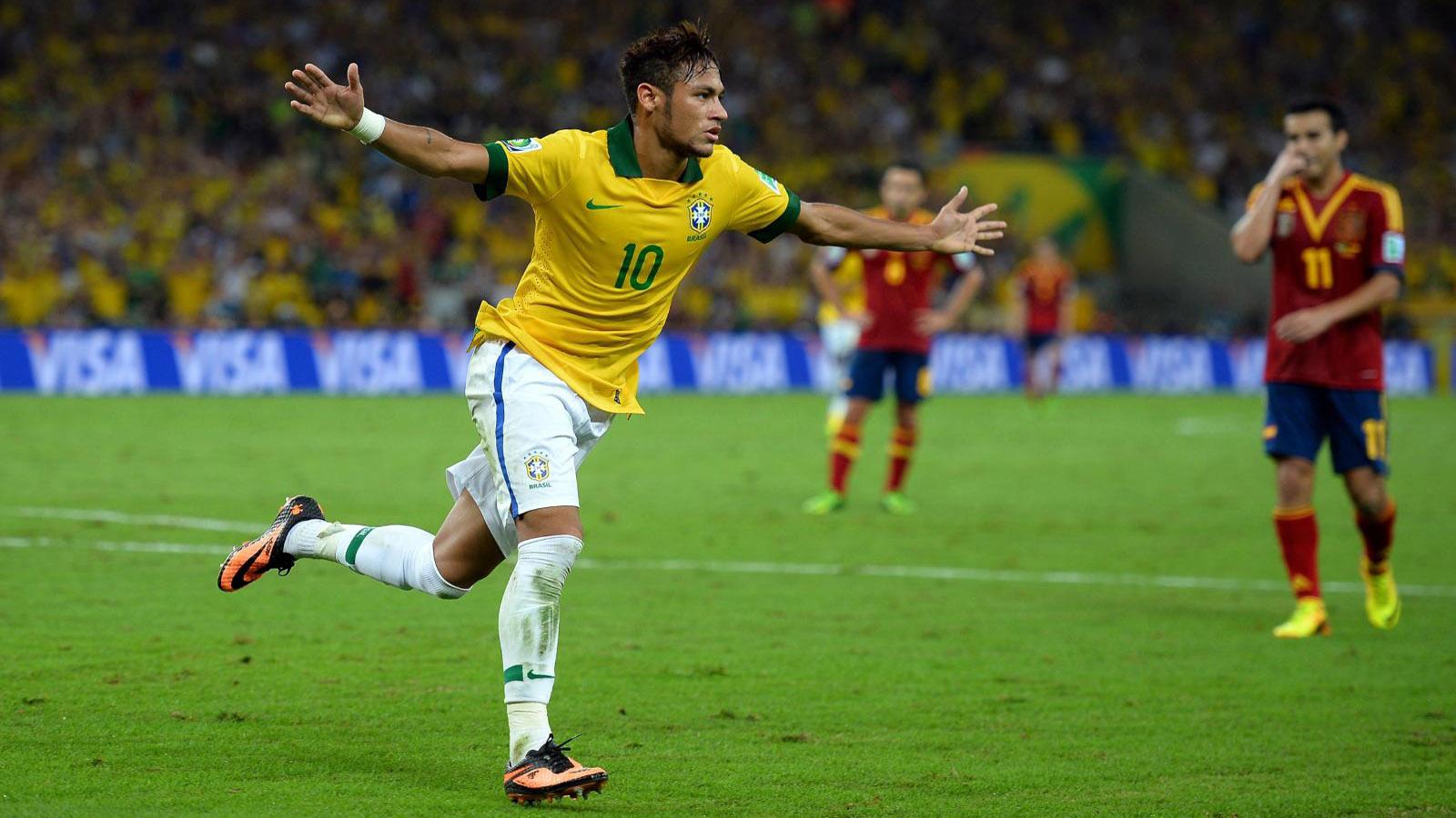 Neymar Cool On Brazil Football Club Wallpaper 13252 Wallpaper High 1600x900