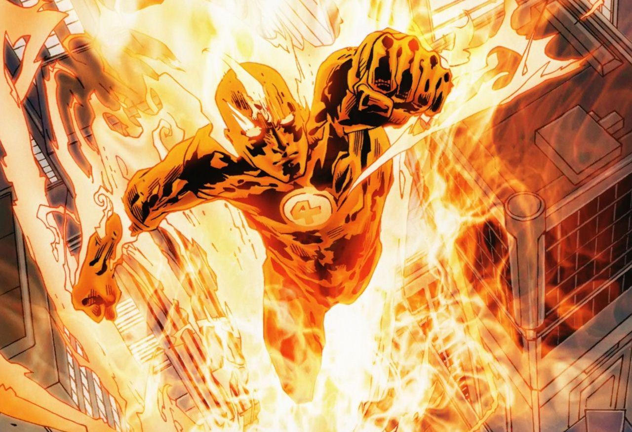 Human Torch Wallpapers 1280x875