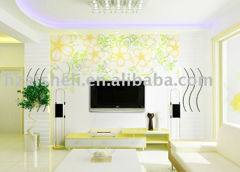 Categories Wall Murals Florals Customized bedroom wallpaper 800x575