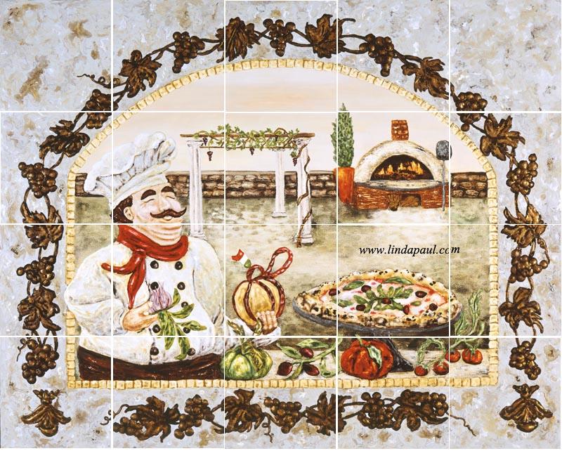 Go Back Gallery For Pizza Tile Wallpaper 800x642