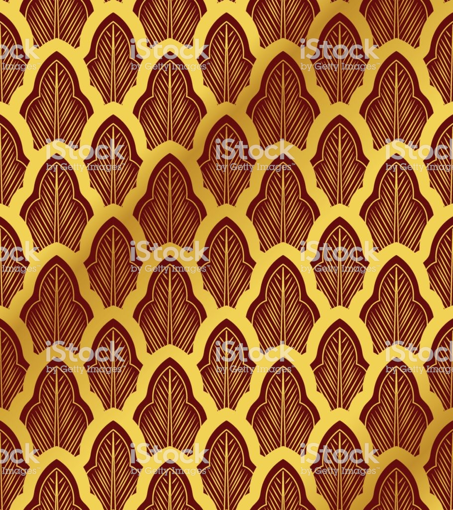 Seamless Chinese Background Oriental Botanic Curve Cross Leaf 910x1024