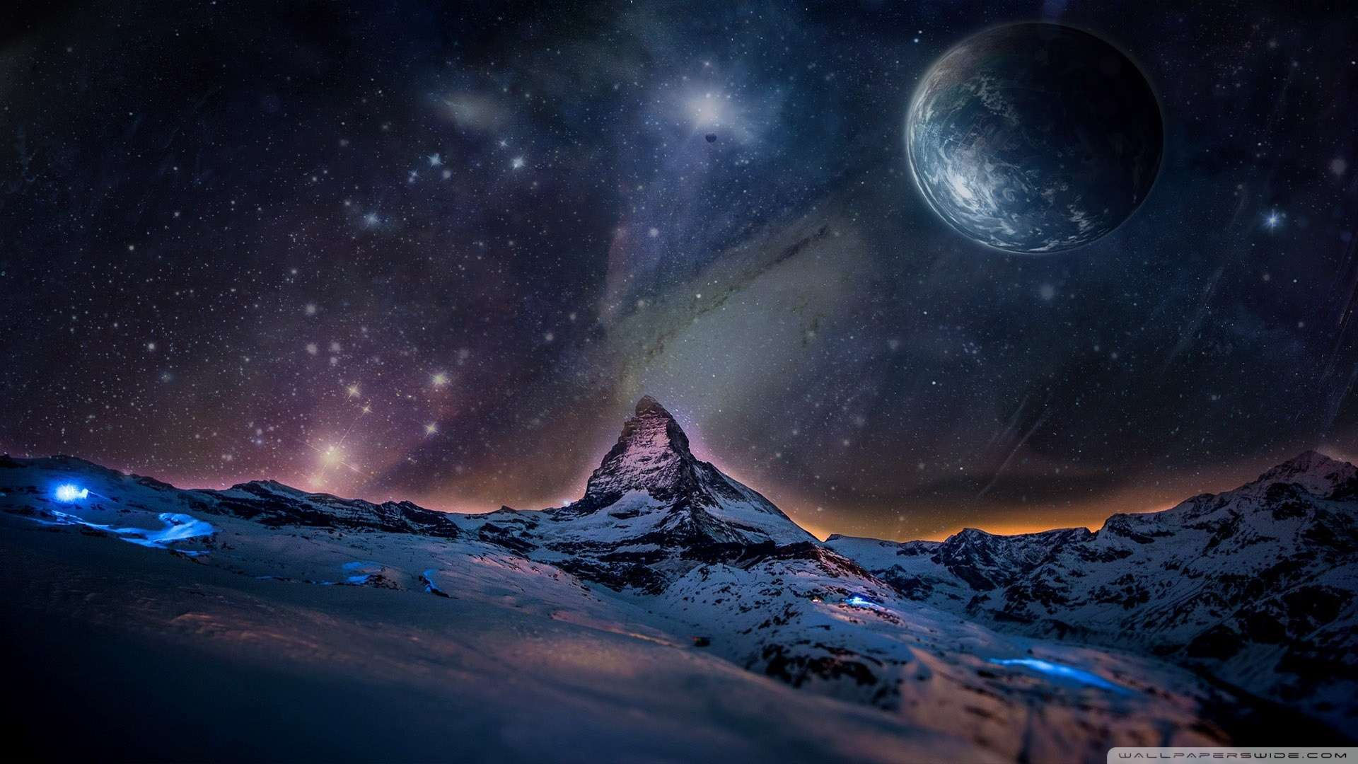 space 1080p wallpaper landscape - photo #3
