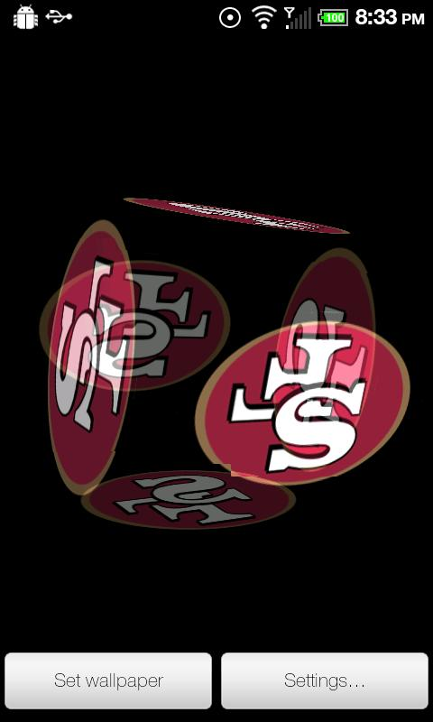Free Download 49ers Live Wallpaper Pro Version This Is The San